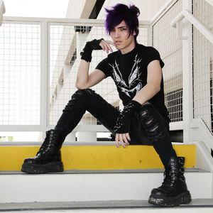 Vampirefreaks Black Logo Tshirt Unisex Punk Goth S